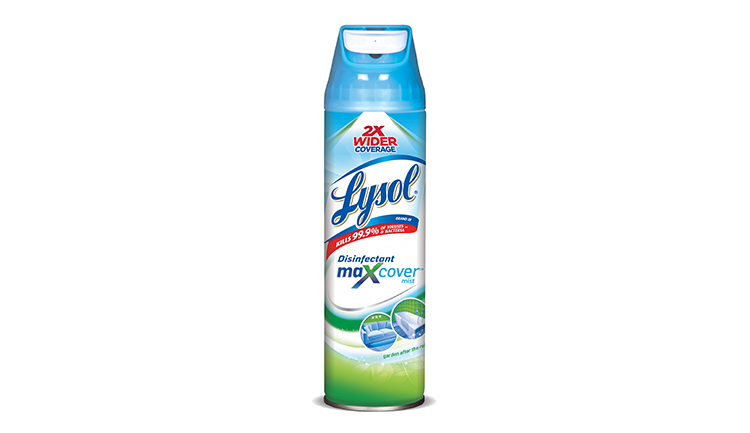 Lysol Max Cover Disinfectant Spray